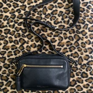Marc Jacobs zoom leather crossbody